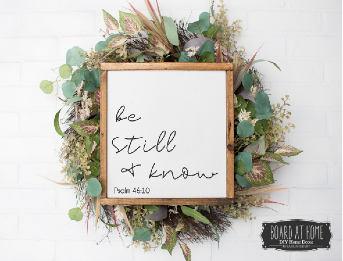 127- be still and know
