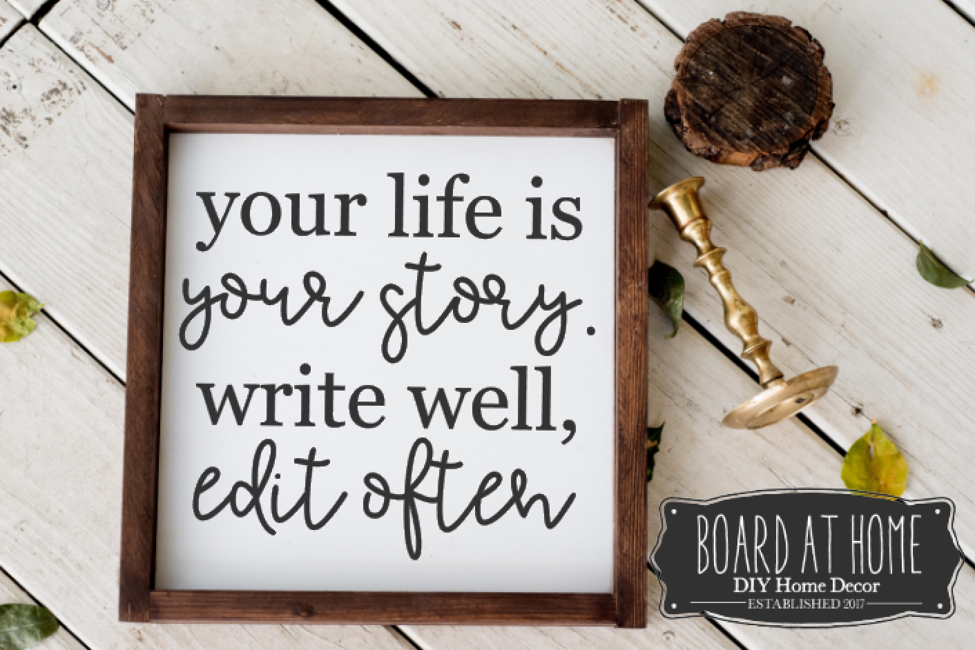 129- your life is your story