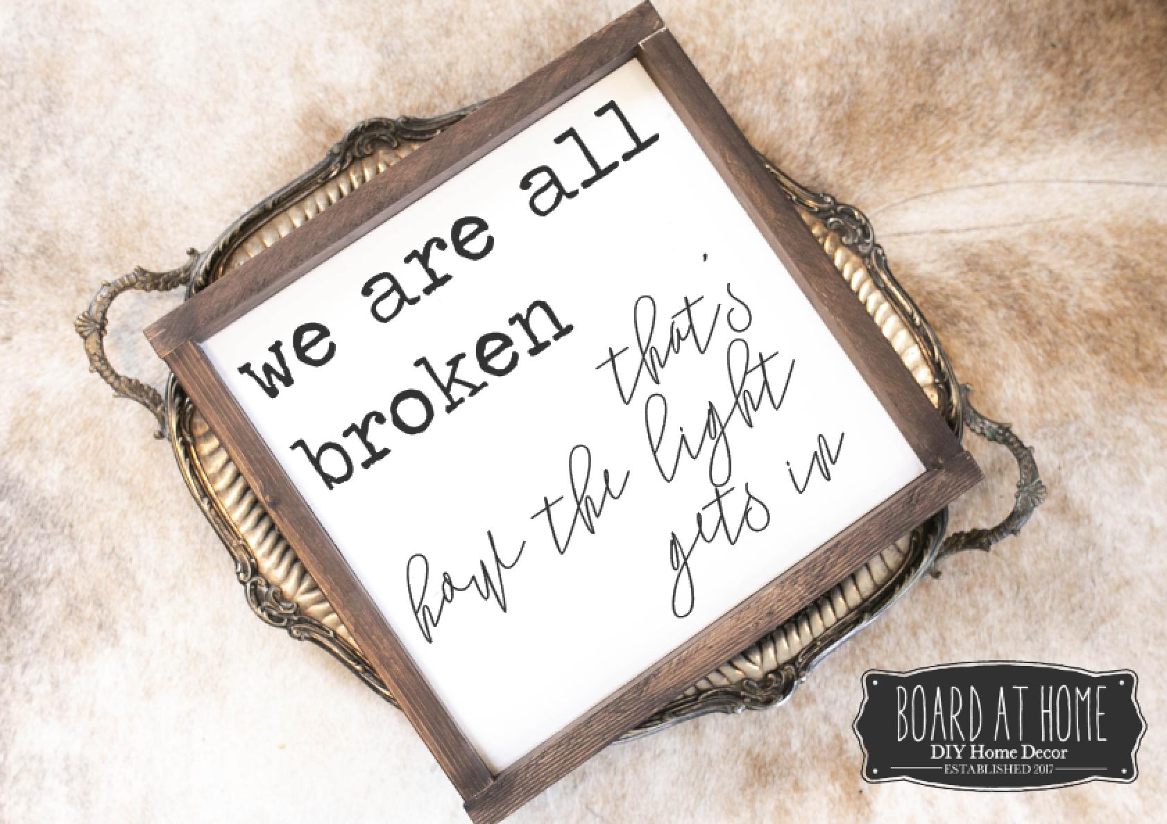 130- all broken