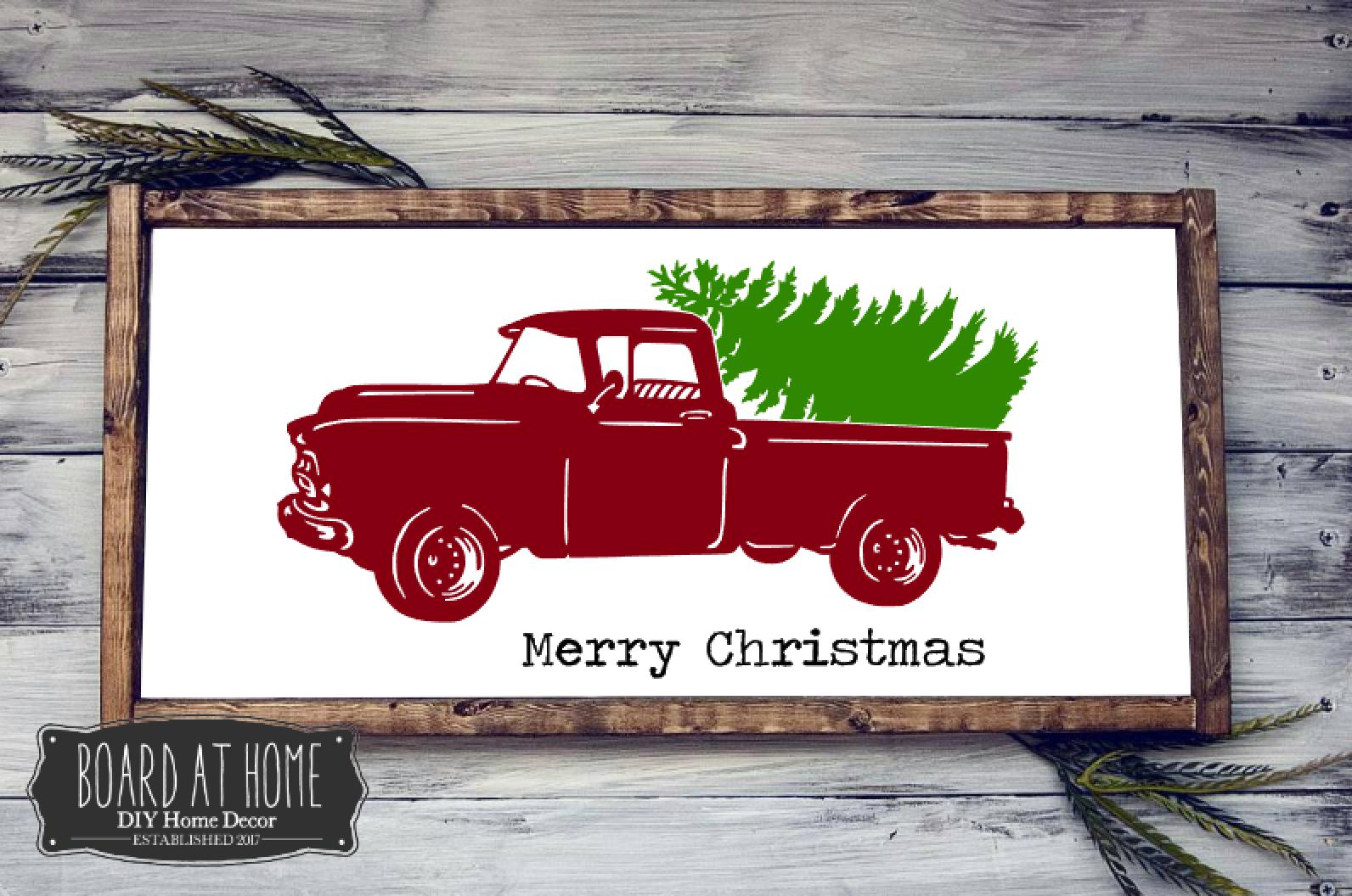 239- christmas truck