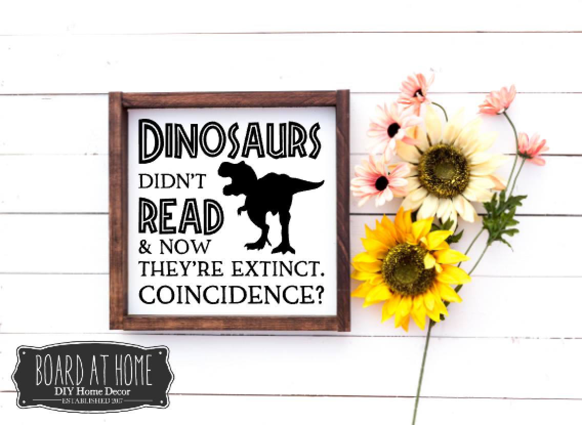 149 Dinosaurs dind't read