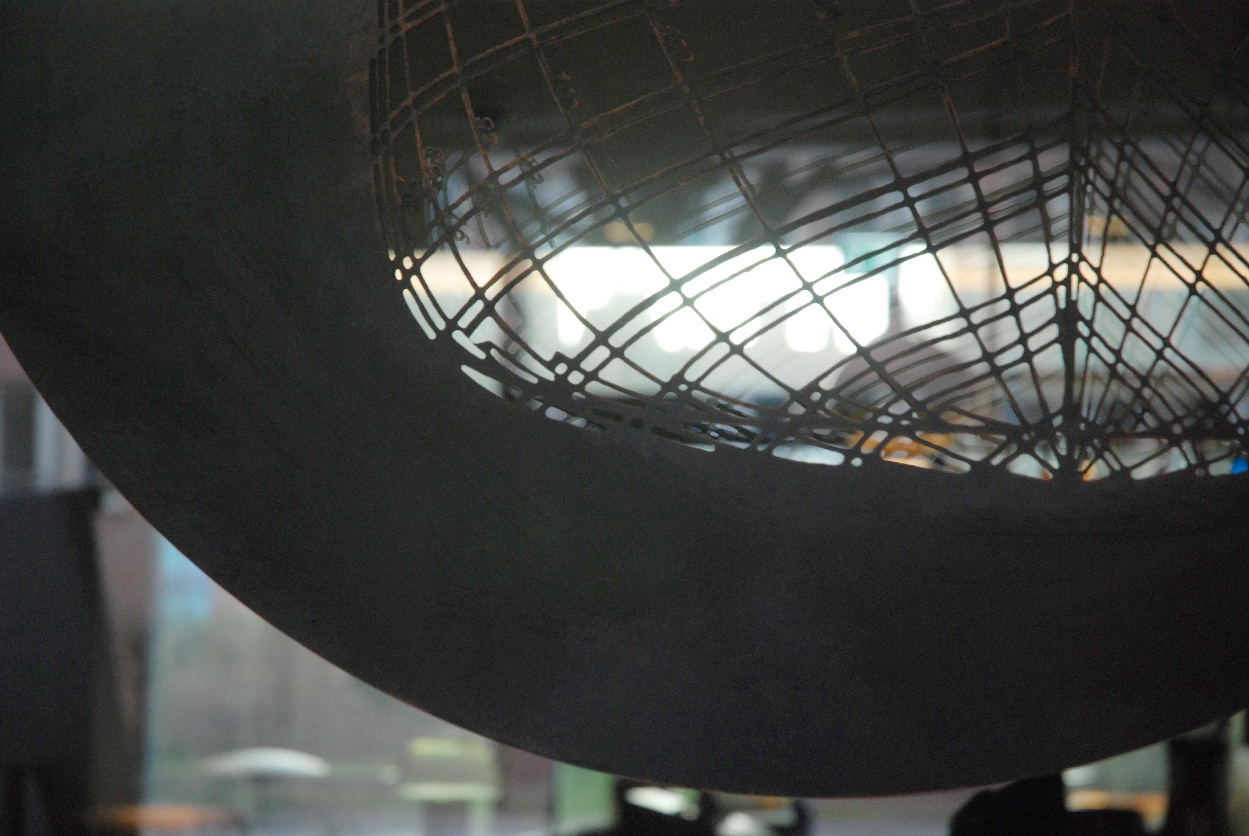 Copper Maritime Installation, Hamburg by Rebecca Gouldson Metal Art www.rebeccagouldson.co.uk