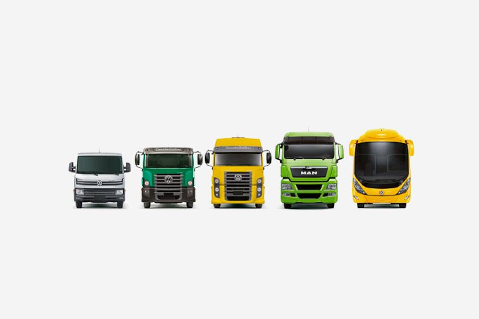 Caminhões vw