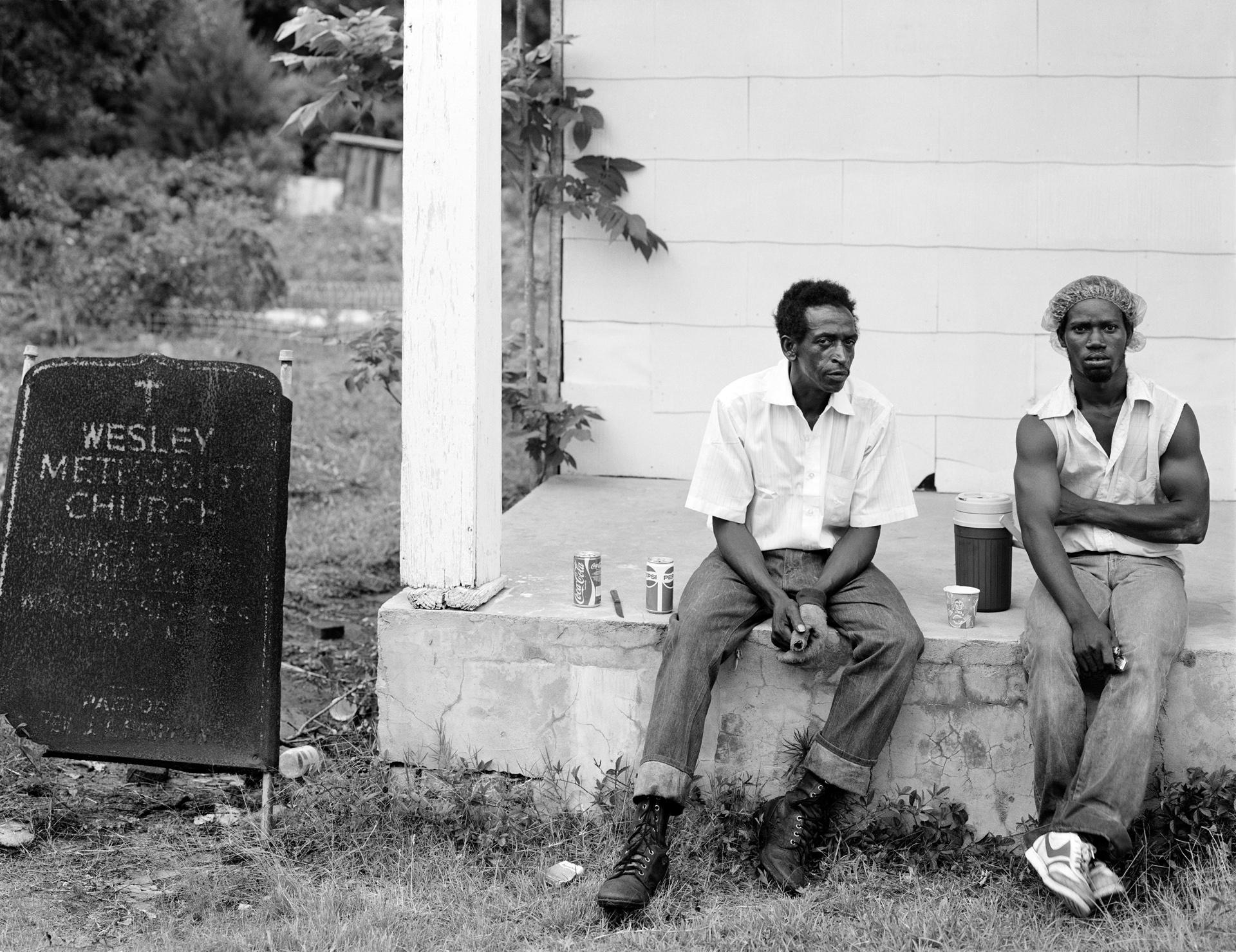 Men On Church Porch