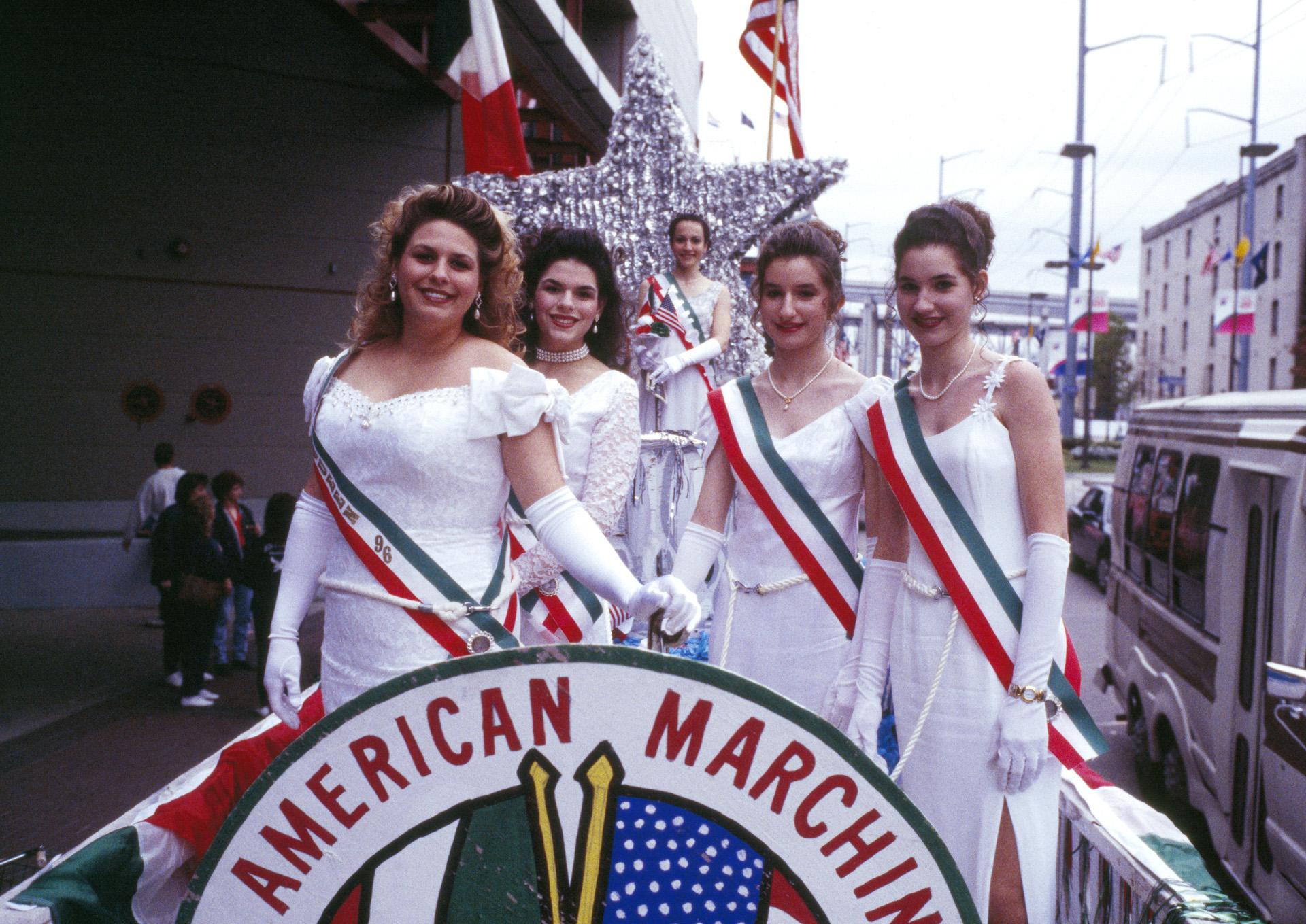 Girls On Parade Float