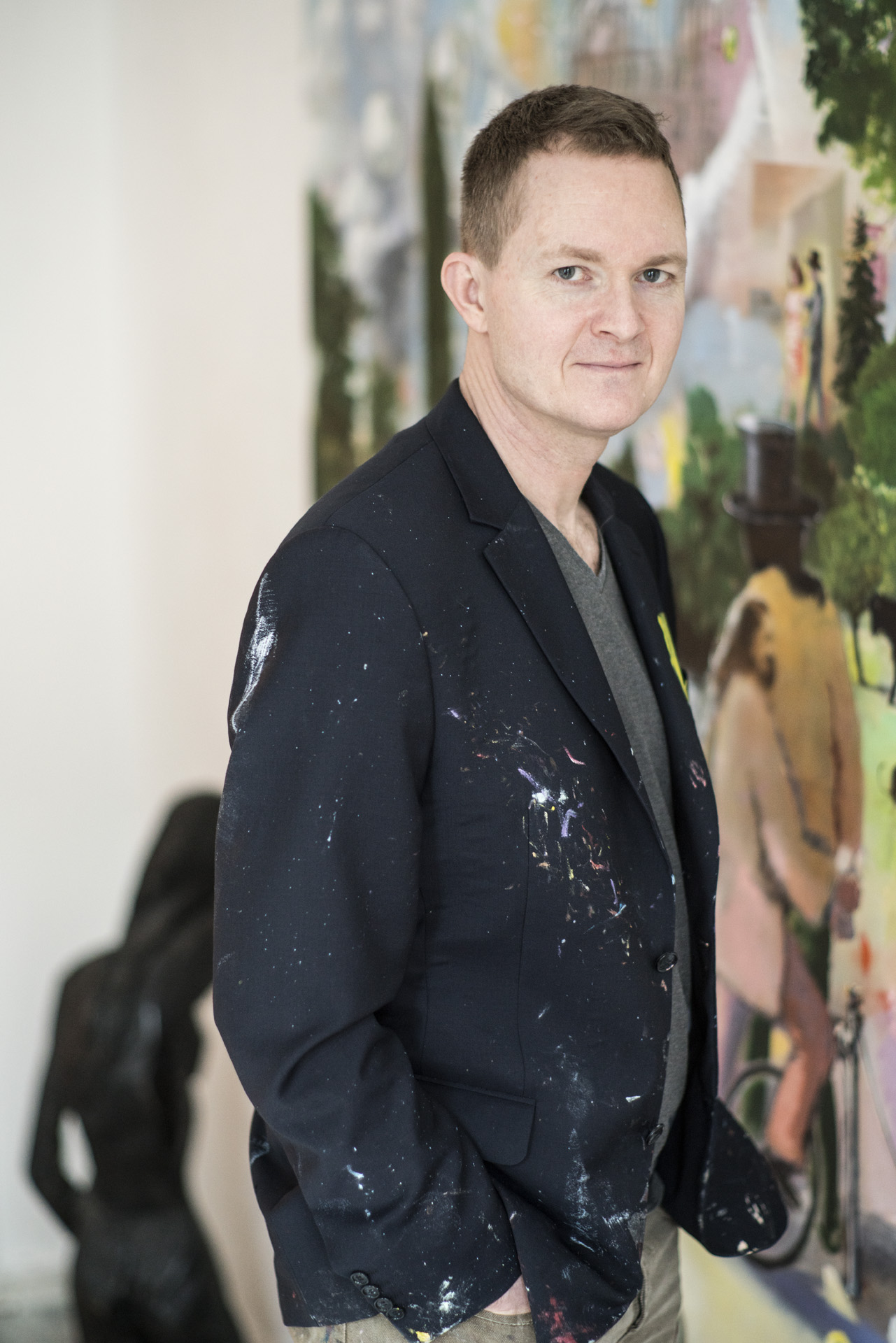 Armin Völkers, painter