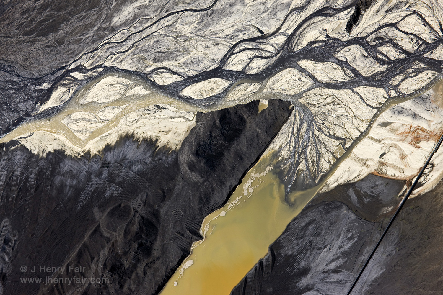 Air Pollution: Coal Ash And Desulfurization Waste At Power Plant