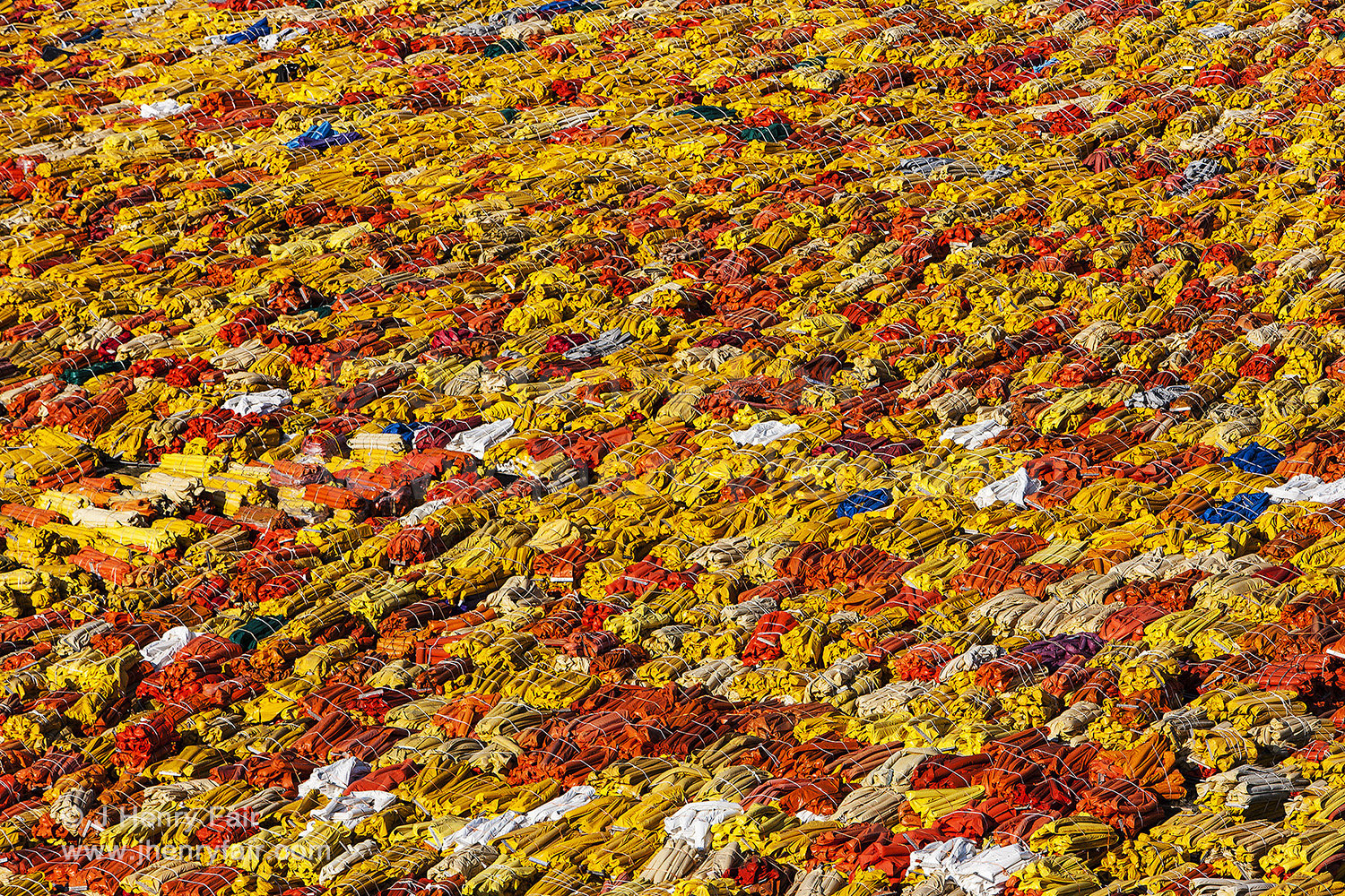 Marine Plastic Litter: Bundled Boom Material Used During Bp Deepwater Horizon Spill In The Gulf Of Mexico
