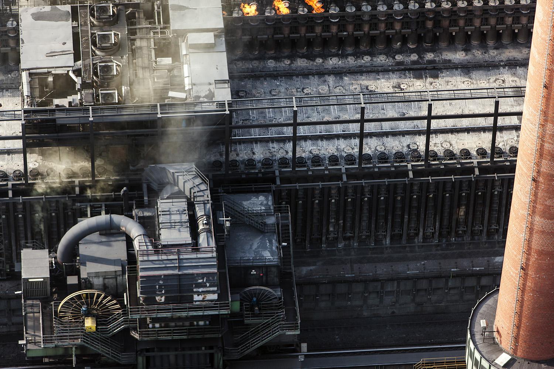 Steel Volatility- Cokerei In Ruhr Valley