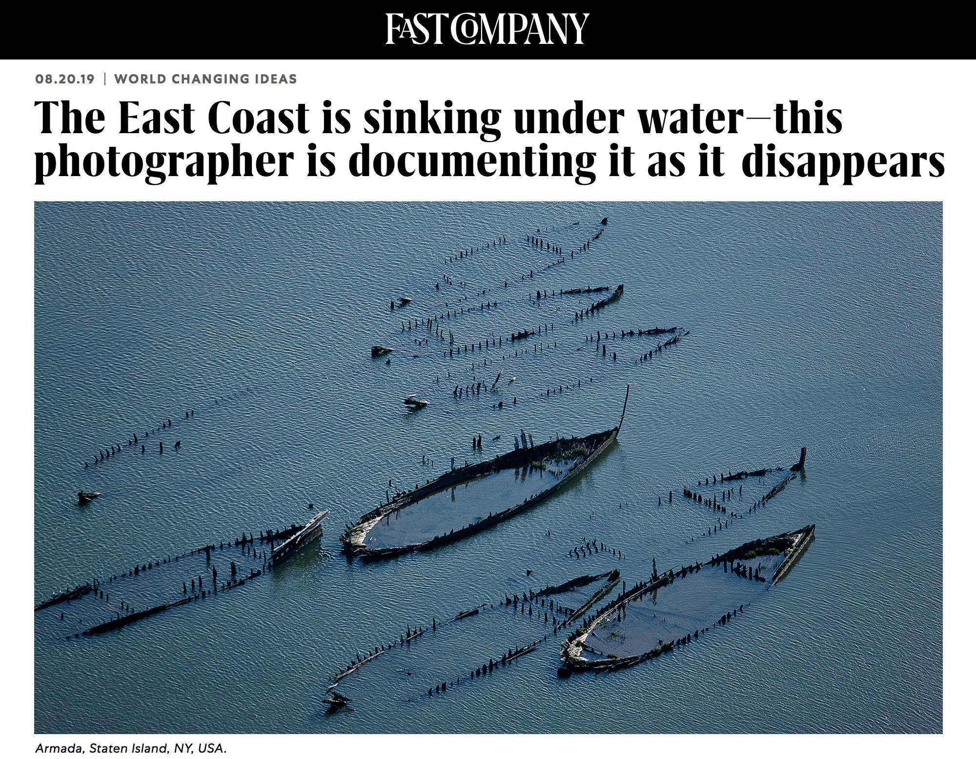 Fast Company - J Henry Fair: Coastlines