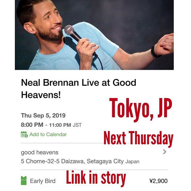 Going to Tokyo. Next week.