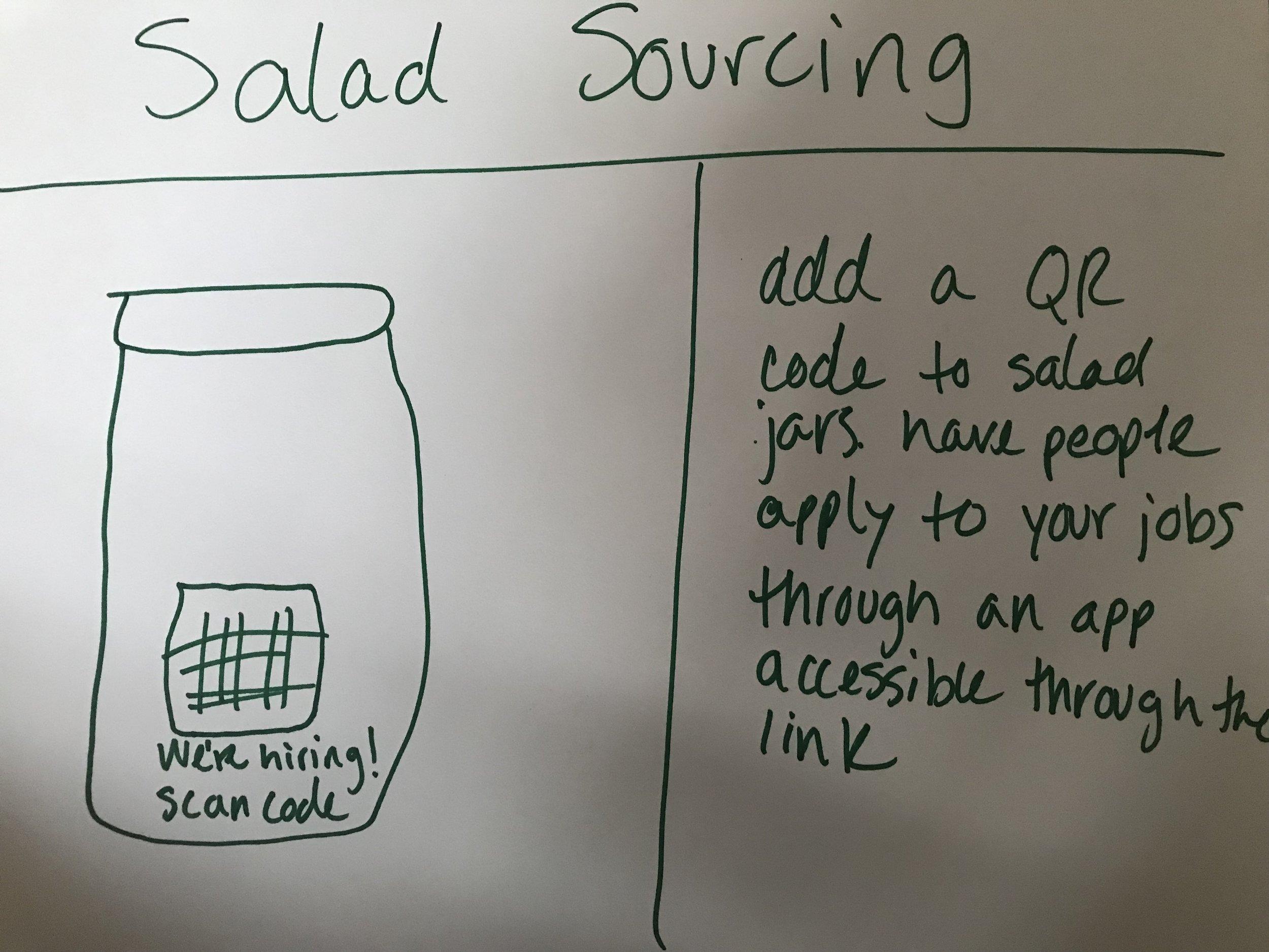 Salad Sourcing
