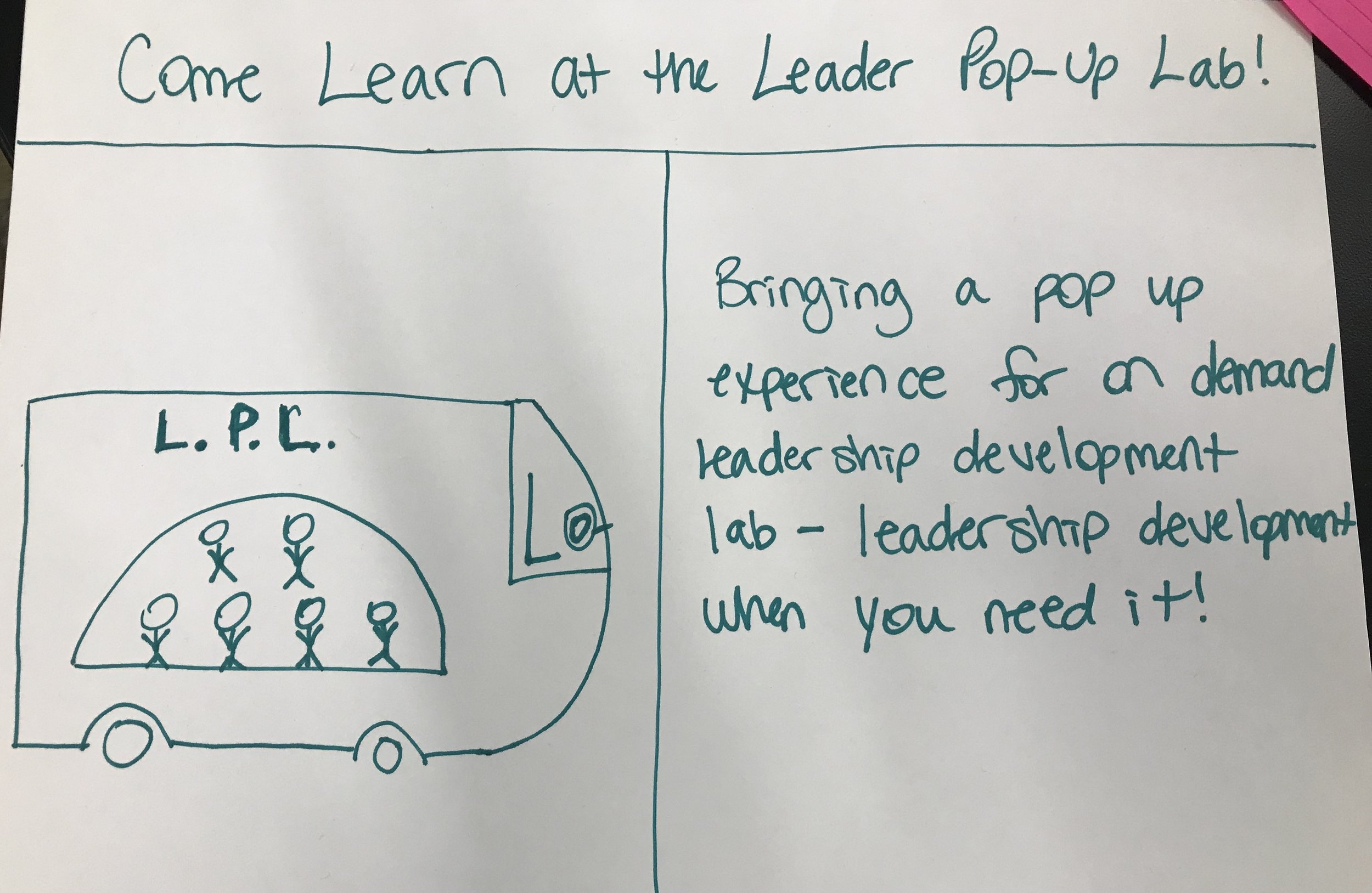 Come Learn At The Leader Pop-Up Lab!
