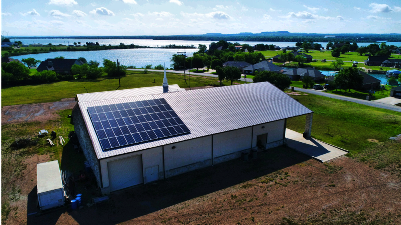 - Commercial Solar Installations