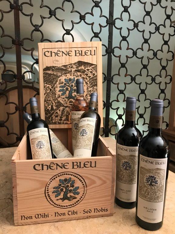 Chene Bleu wine