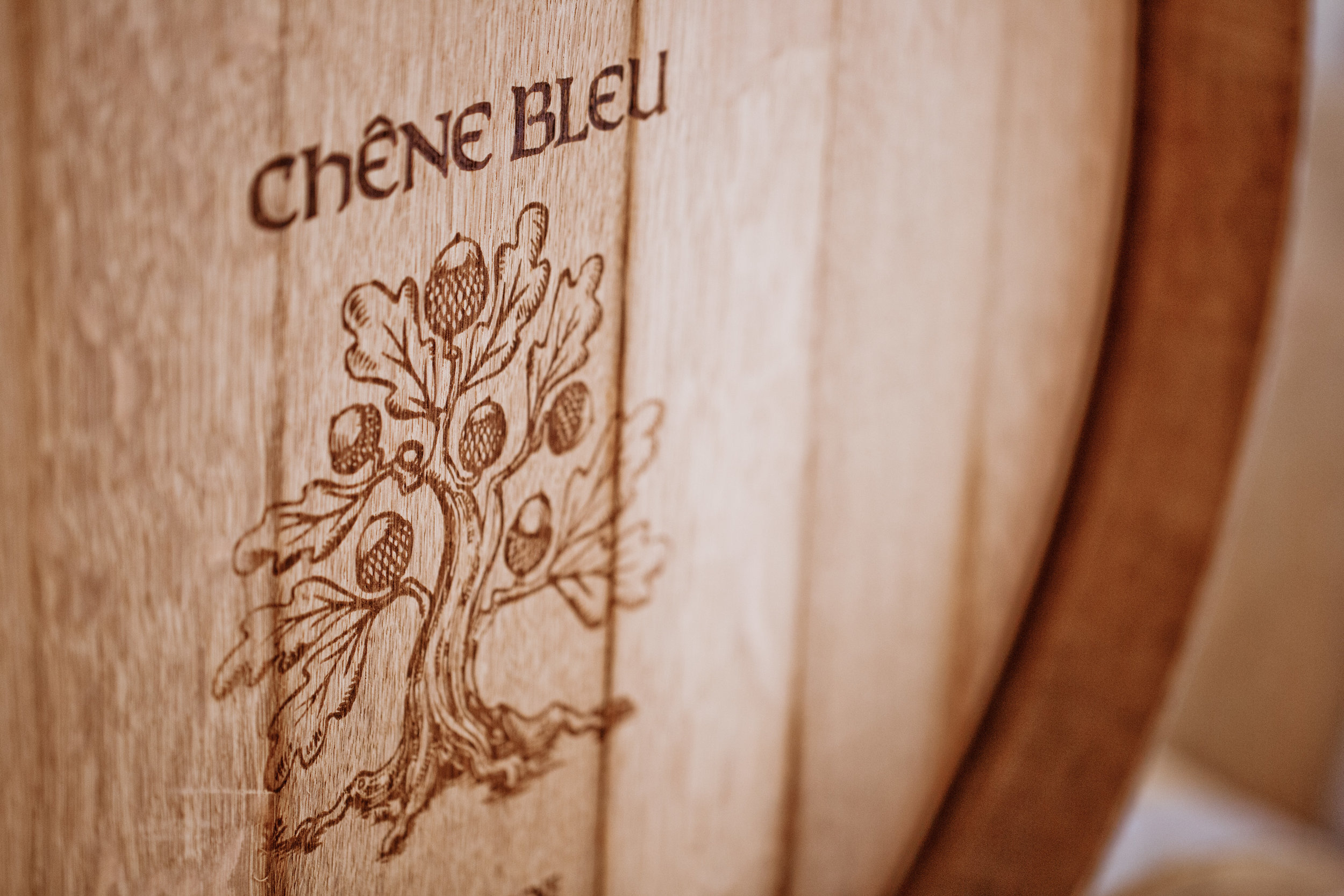 Chene Blue barrel