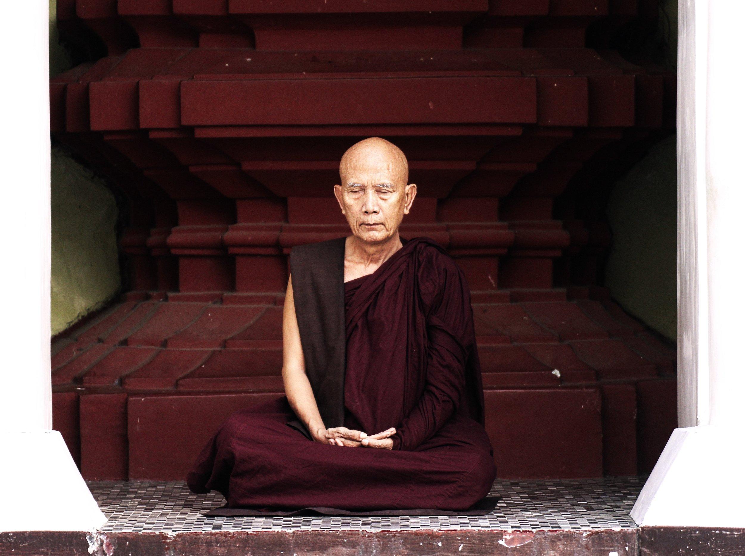 actually a Burmese monk, but I like the photo
