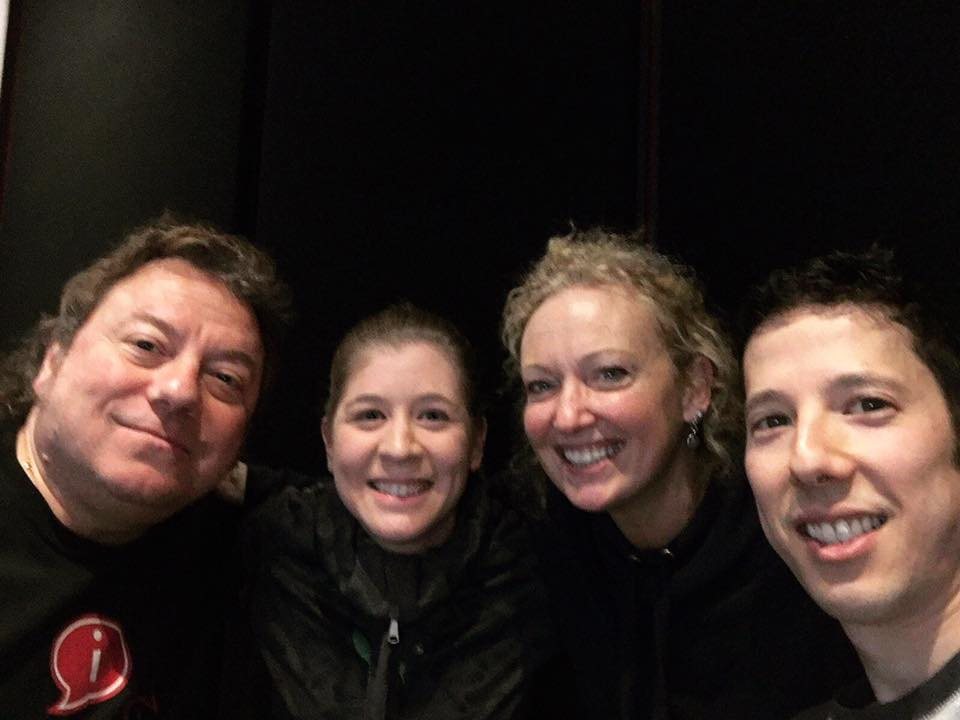 Music Alley 96.7FM Radio Interview - Stephen and Valerie joined Marco Delmar and Carol Campbell in the studio to chat about The Revolution is Love!