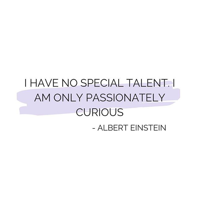 Pursue your passion until it becomes an obsession! Your obsessions will give your life meaning and something to strive for 🤜💡 #alberteinstein #quoteoftheday #purpose