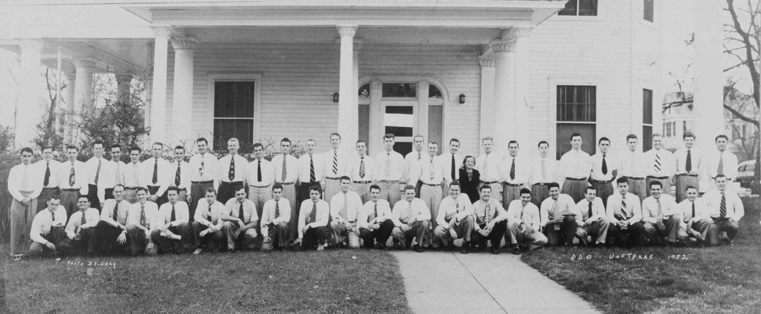 Phi Delta Theta at The University of Texas at Austin (1952)