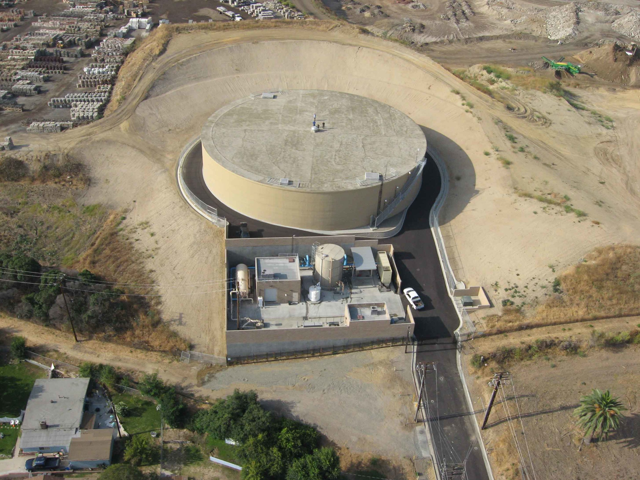 Cypress Street Reservoir Completed    City of Lomita