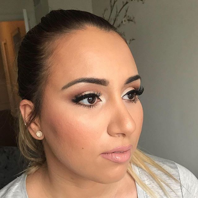 Beauty from every angle. I love nothing more than creating a universally flattering look. #makeupbyagnes #kimkarashian #torontomakeupartist