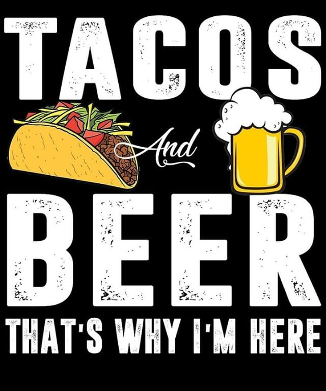 Taco in one hand and a beer in the other is the way to go! - - - #CraftTaco #MyrtleBeach #Beer #Taco #Delicious #restaurant #food #instafood
