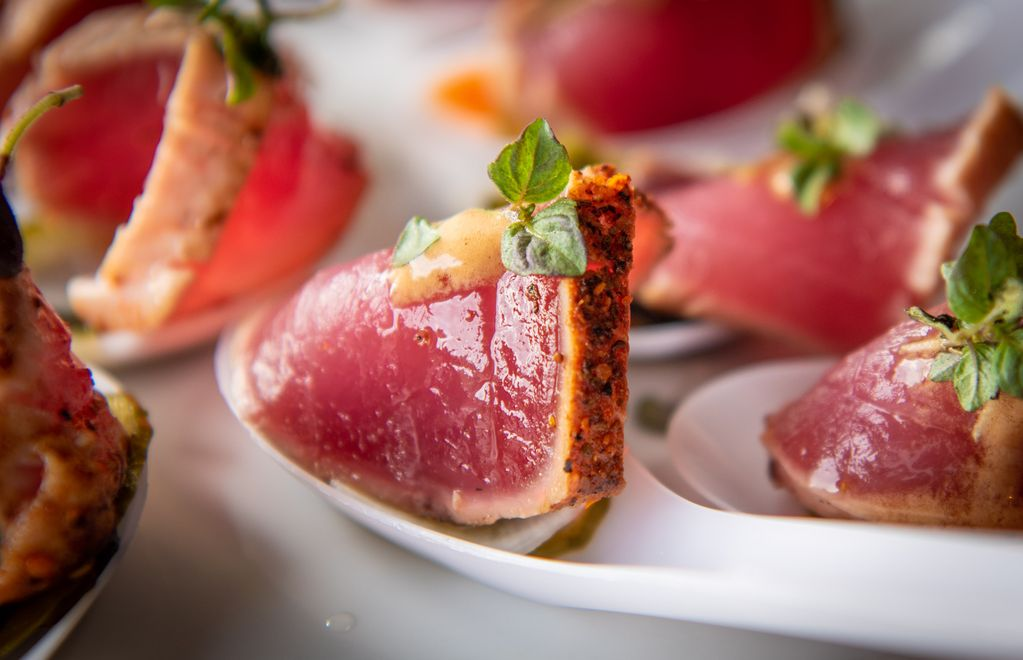 Fresh Ahi by Angelina Lee