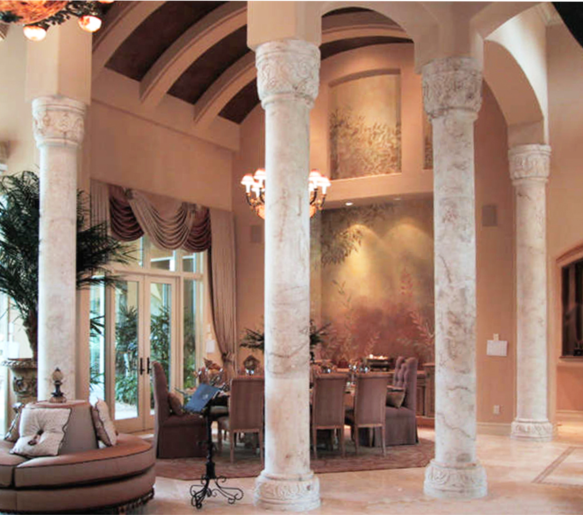 Enrique_Interior Columns_4 custom columns vaulted room_2000x1768.jpg