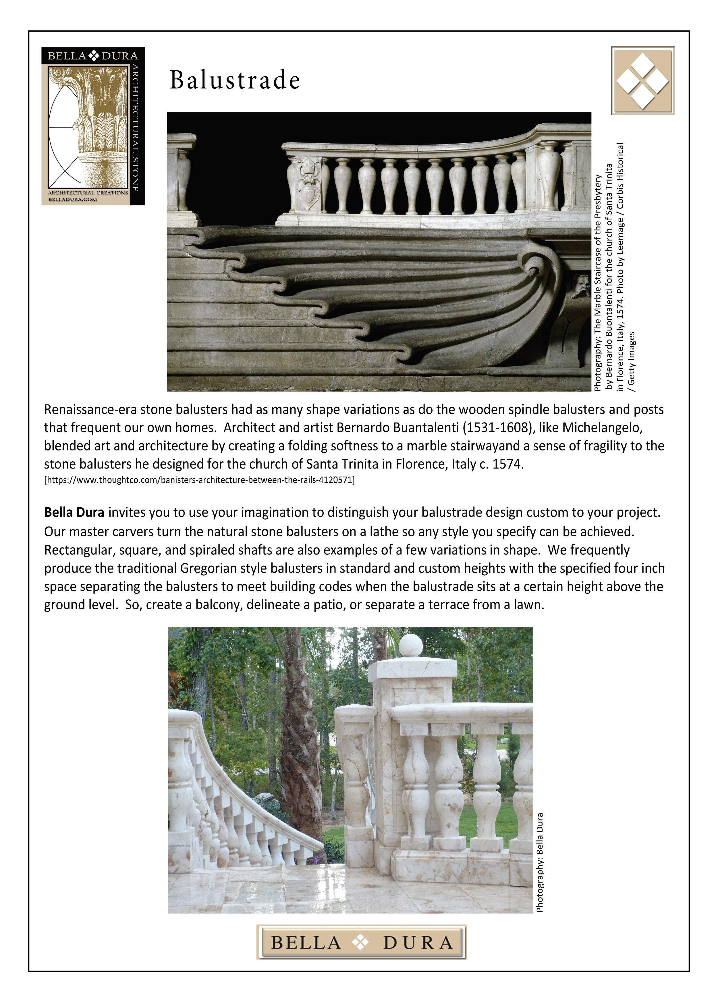 1.Bella Dura Architectural Stone 3, 2014 - DEC. 16, 2014. Copy 13T_Baluster_1.jpg