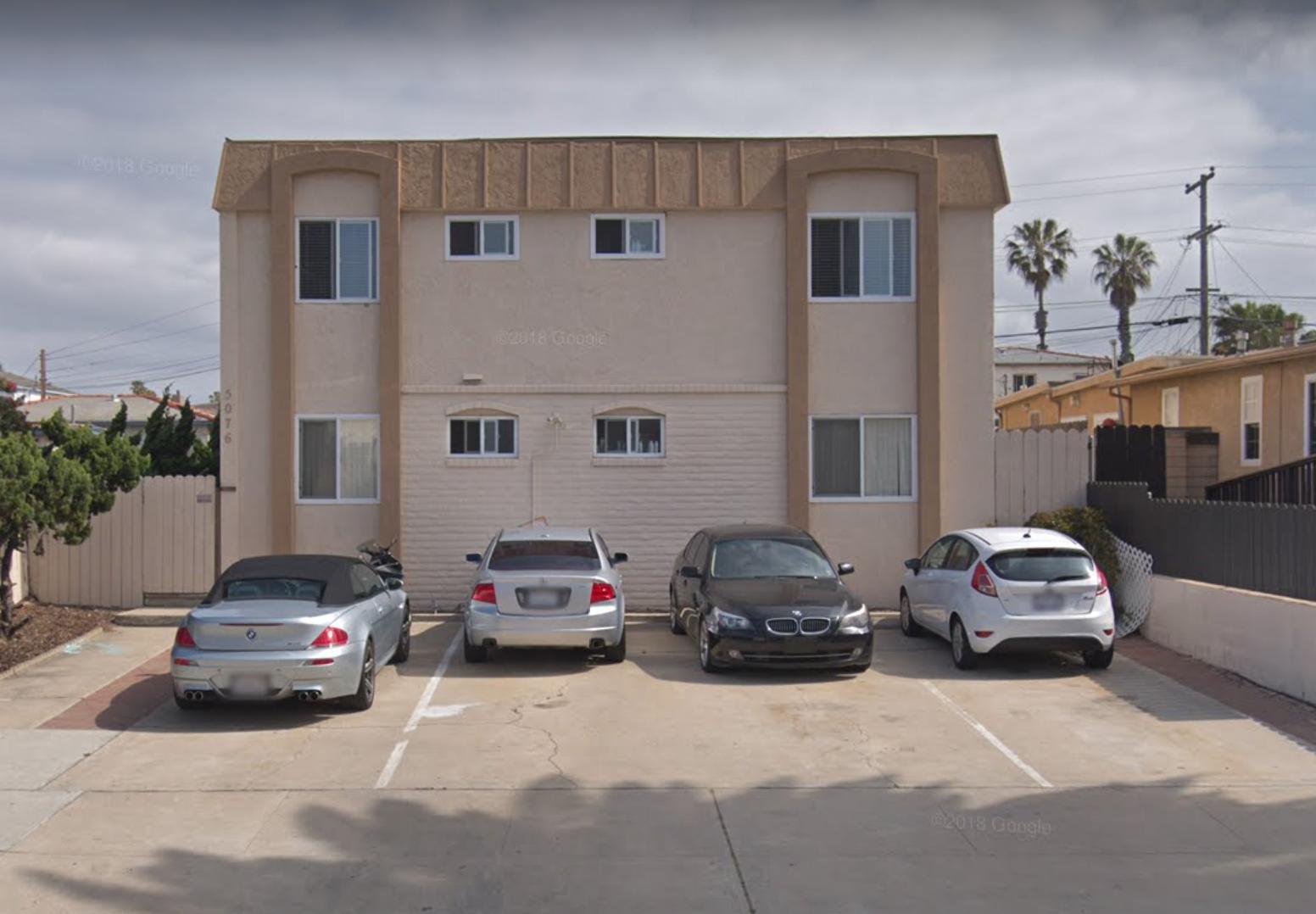 5076 Saratoga Avenue - Ocean Beach9 Units$2,000,000