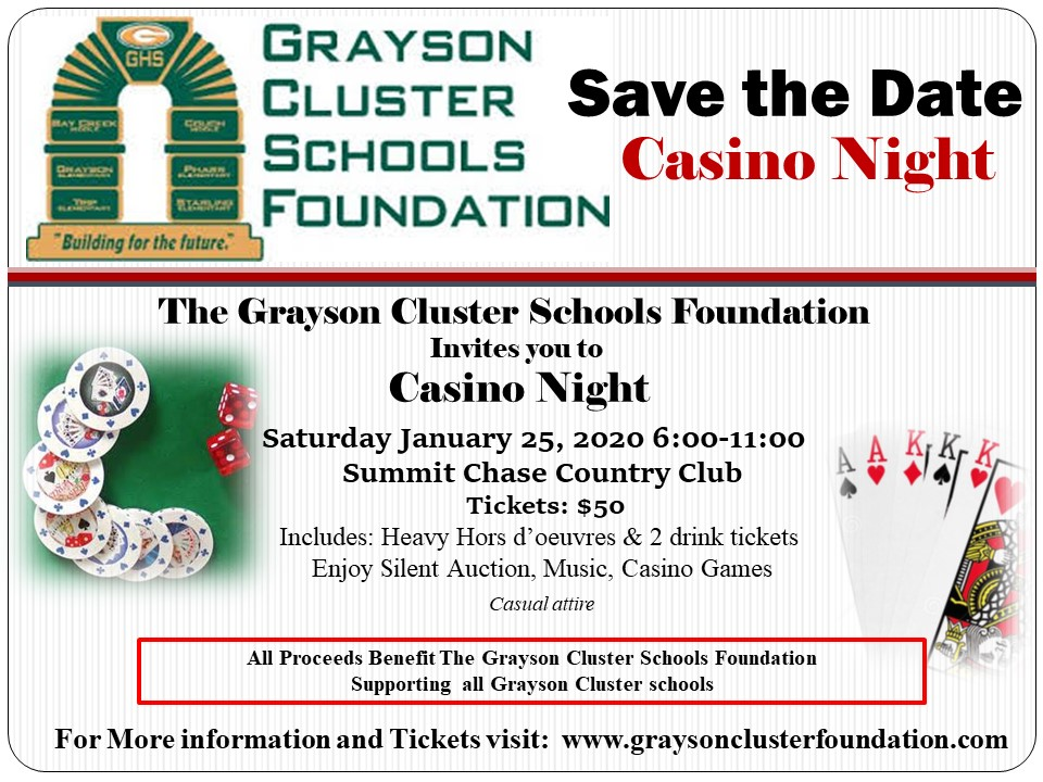 TICKETS - Purchase tickets to Casino Night here