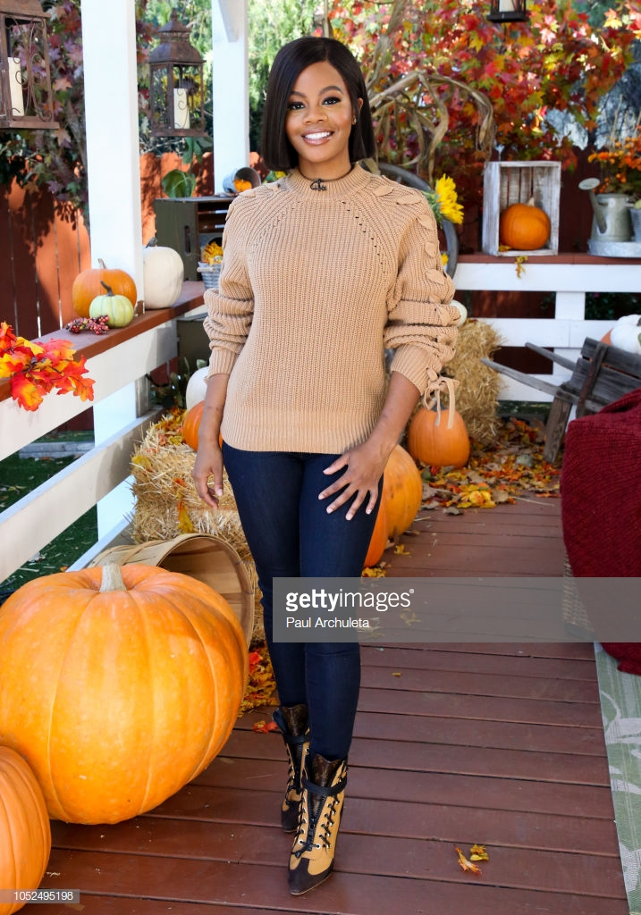 Gabby Douglas for 'Home & Family' Hallmark Channel 2018