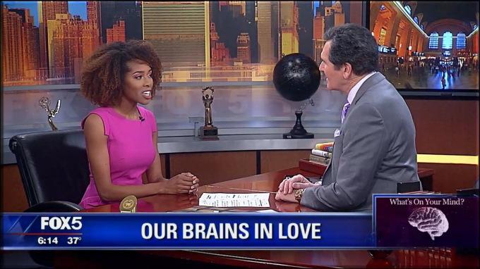 Neuroscientist Bianca Jones Marlin 'Our Brains in Love' FOX (2018)