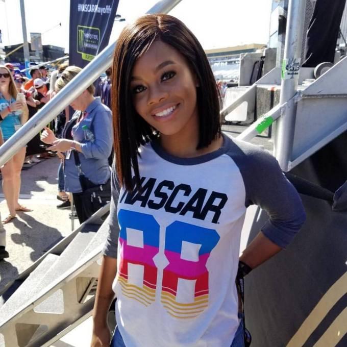 Olympic Gymnast Gabby Douglas | Honorary Starter for the NASCAR Championship (2017)