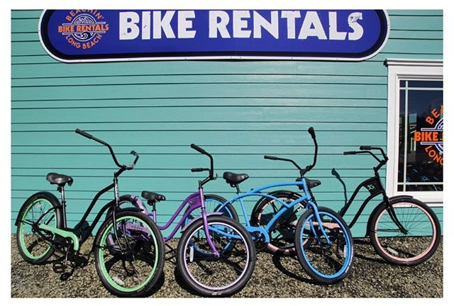 End of season bike sale! We have a great selection of pedal bikes that we're selling as well as a few of our electric bikes. For more info either call or stop (phone number and address in bio)  #longbeachwa #beachinbikes #funbeachfuncenter
