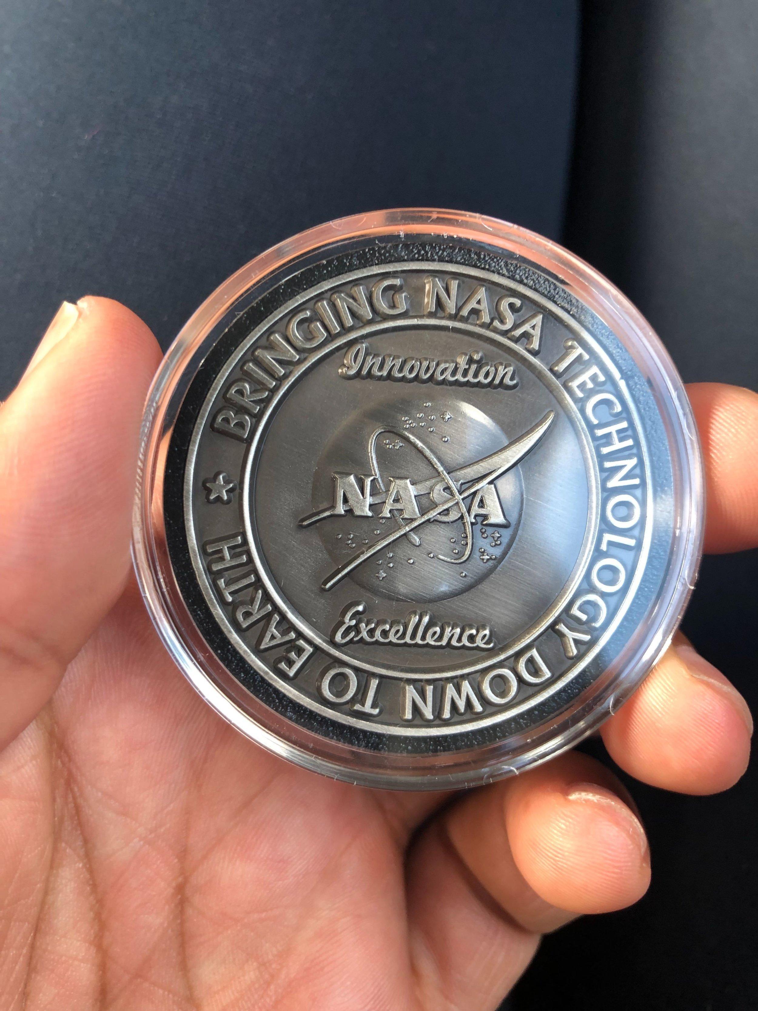 NASA's OPSPARC program awarded us a medal!