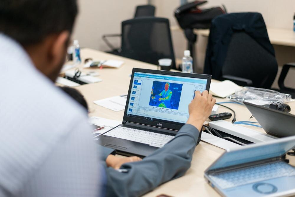 Toray's Technorama facility provides detailed technical information that helps improve our designs.