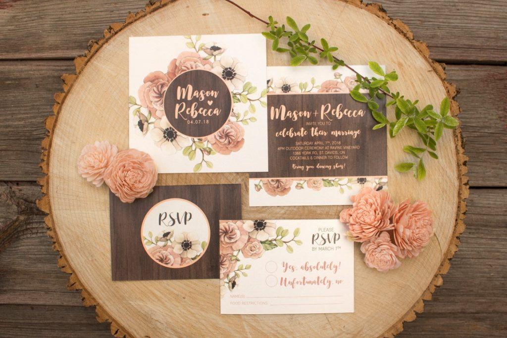 Rustic Barn Wedding Wood & Floral