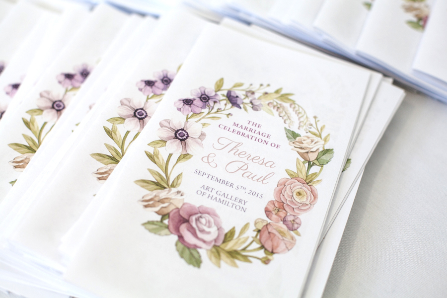 Watercolour Floral Wreath Watercolour Wedding Invitations and Stationery by Alicia's Infinity