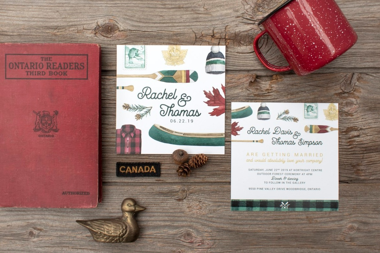 Canadiana Rustic Plaid