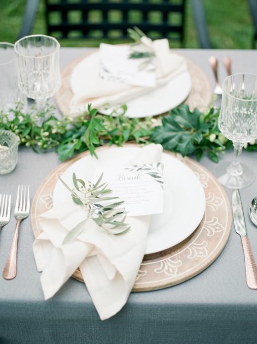 Simple and Elegant Greenery Garland Family Affair Small Wedding at The Westover Inn (web) (45).jpg