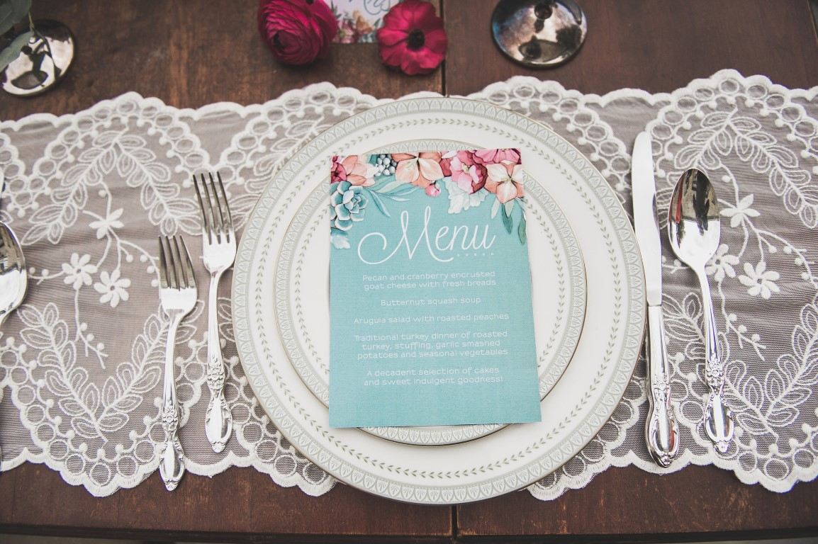 Peachy Coral Floral and Mint Succulent wedding invitations by Aliciasinfinity(Medium) (Menu).JPG