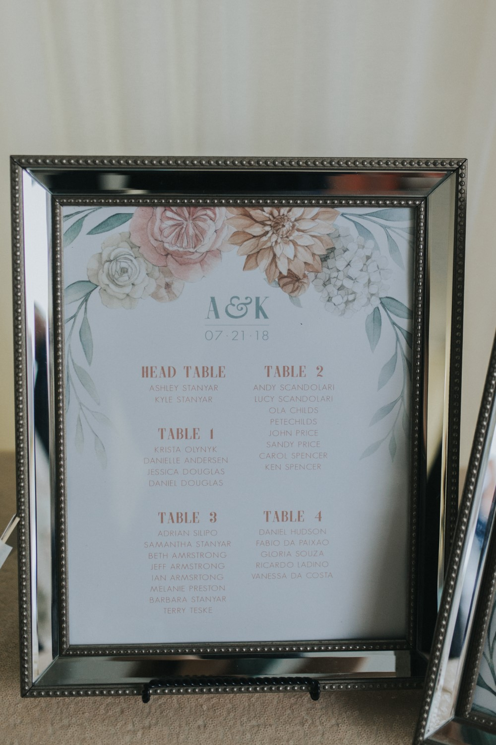 Ashley & Kyle - Dahlia and Leaves Wedding Day Stationery by Alicias Infinity (Seating-Chart) (Custom).jpg