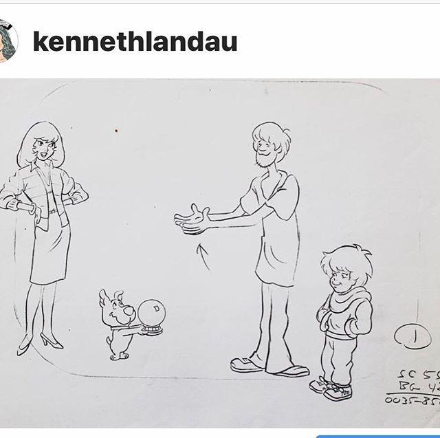 Originals Ken drew for Scooby Doo!!!