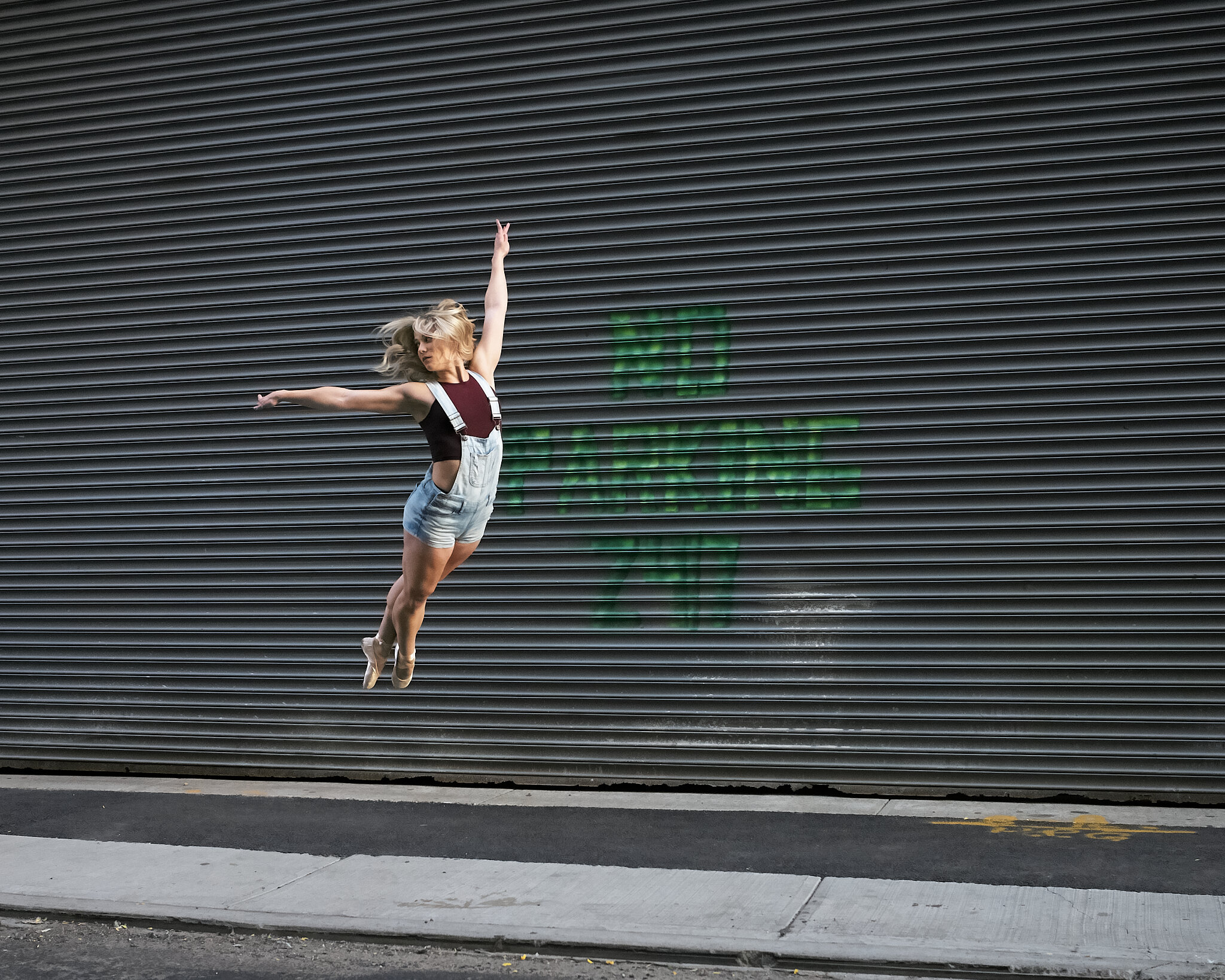 NYC Dancer jumping