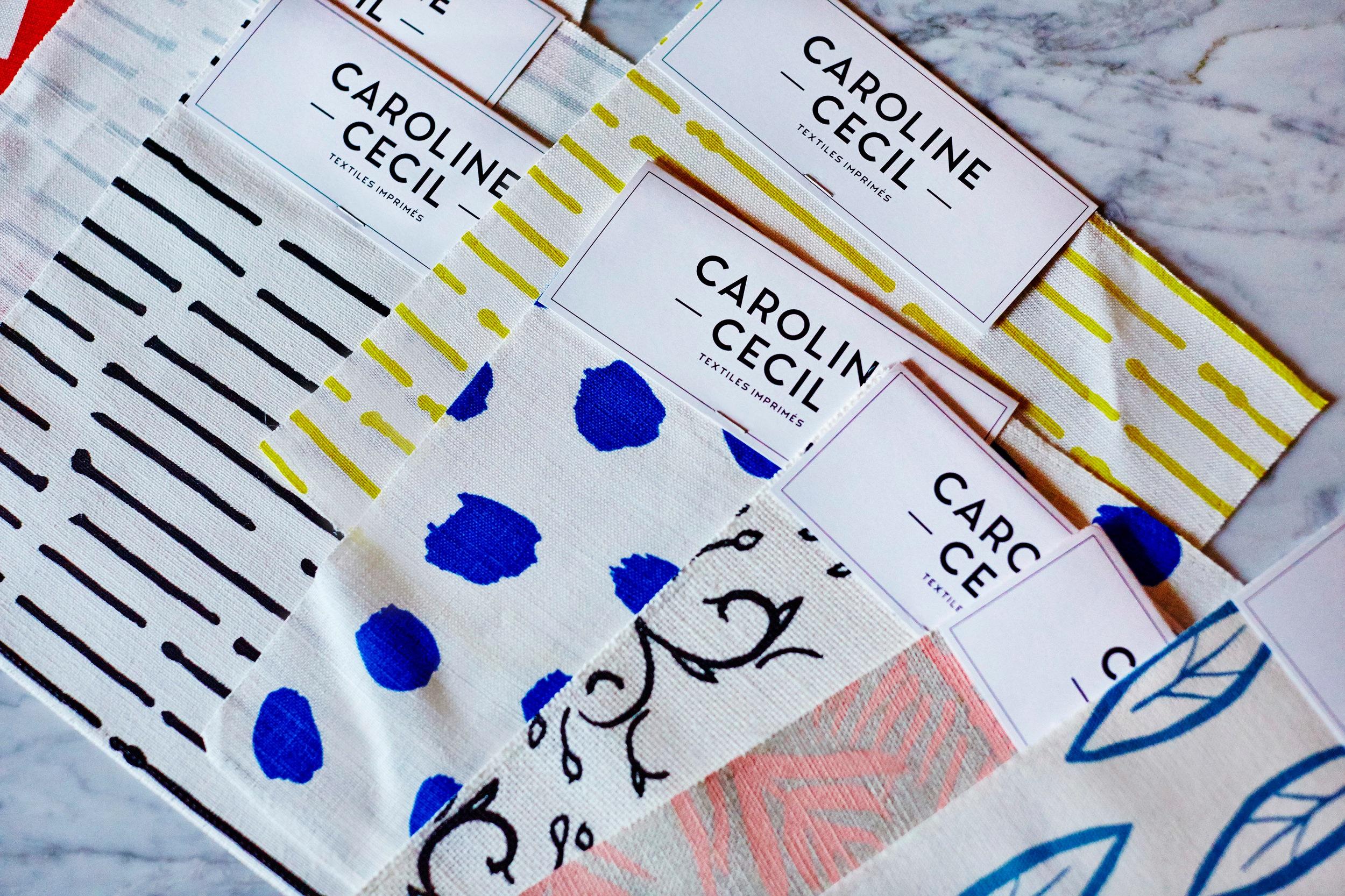 REVELE Caroline Cecil Textiles Interior Design PR