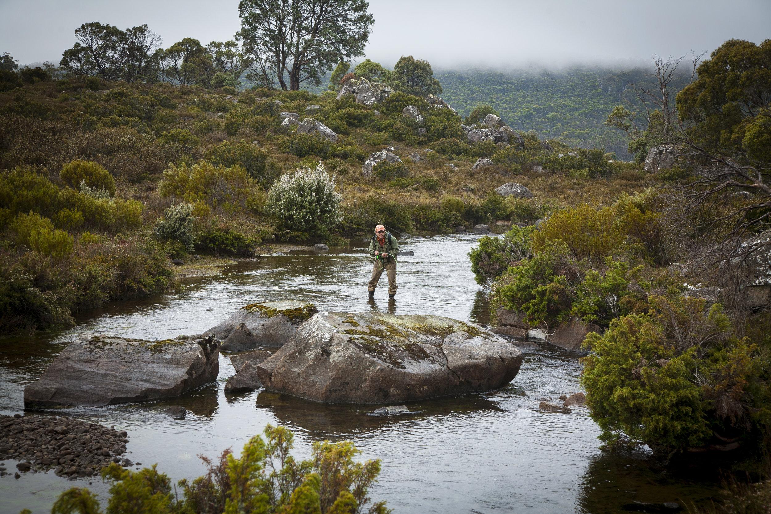 Fly Fishing Tasmania - The Granary Historic Accommodation