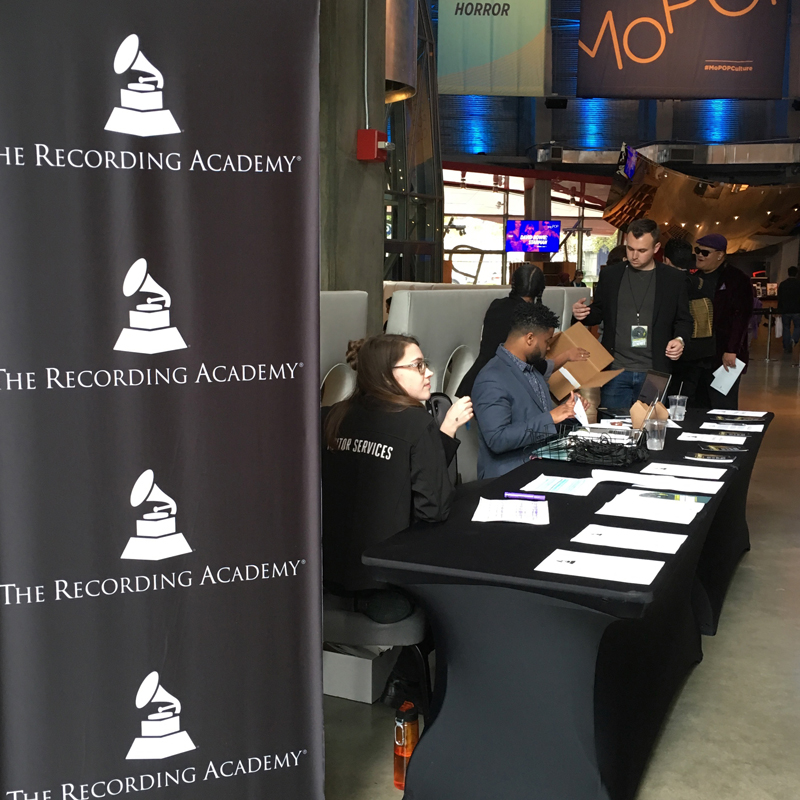 RECORDING ACADEMY  SEATTLE