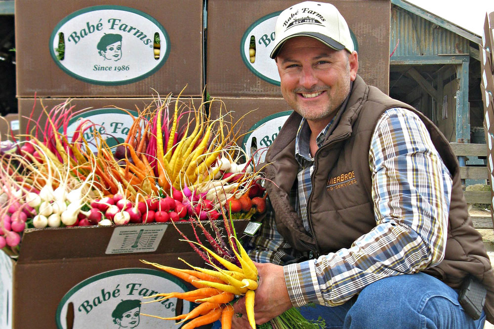 Jeff Lundberg is chief executive officer and president of Babe Farms, one of the ag industry businesses that will host tours during the inaugural Santa Barbara County Farm Day on Sept. 28. (Contributed photo)